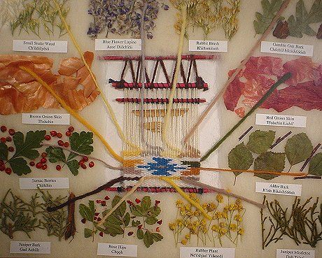 12 plant navajo dye chart natural dyeing pinterest for The art and craft of natural dyeing