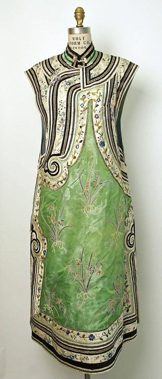 1800–1943 Chinese Medium: silk