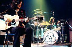 John Bonham and Jimmy Page