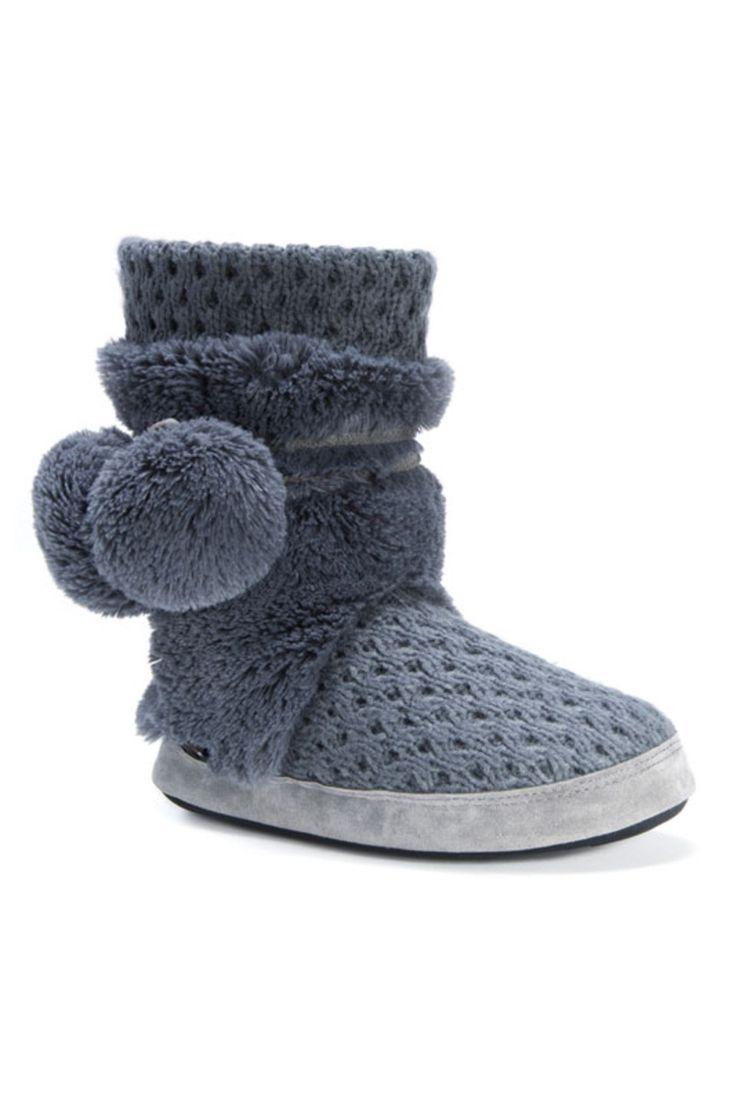 MUK LUKS ® - Ladies' Delanie Slippers in Pewter
