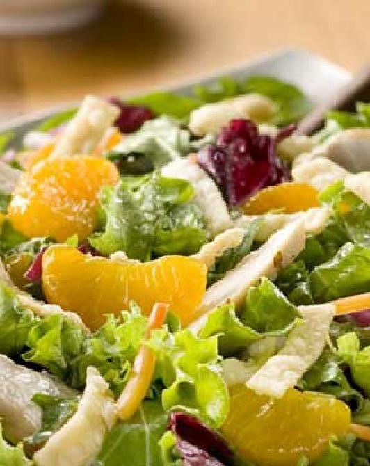 Low FODMAP and Gluten Free - Oriental chicken salad http://www.ibssano.com/low_fodmap_recipe_oriental_chicken_salad.html