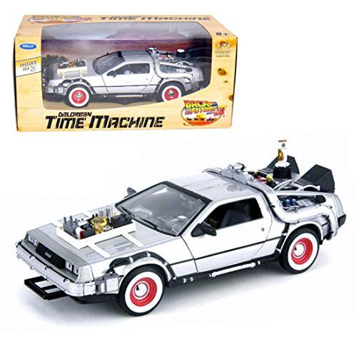 Back To The Future Part 3 1/24 scale die-cast minicar DeLorean time machine by Welly