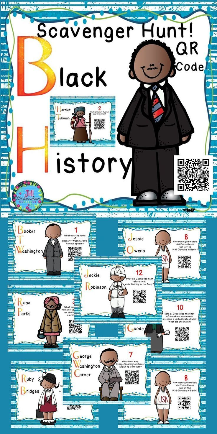 The 457 best TpT Black History Month images on Pinterest | Printable ...