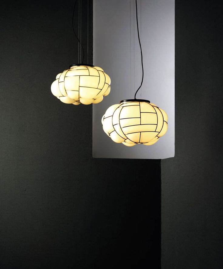 Check-out our extraordinary selection of lamps with decorated lamp shades | .Egg lamp, Enrico Franzolini, Pallucco, 2015 |