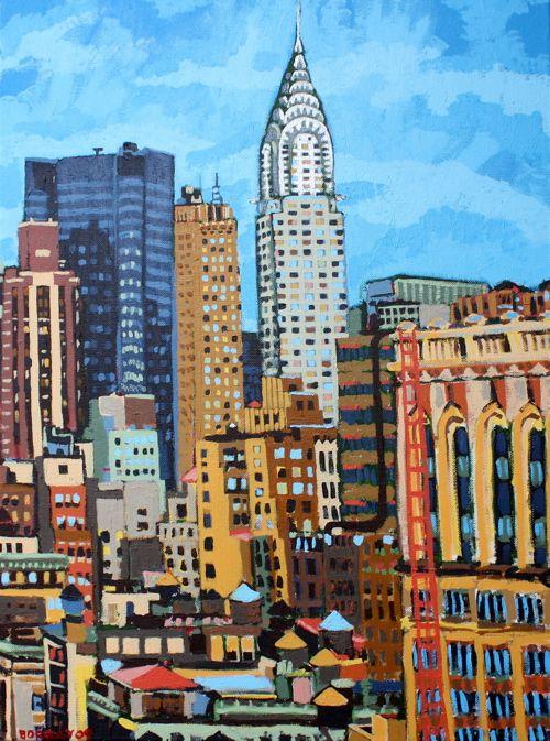 Chrysler Building ~ Borbay Proffesional Artist.