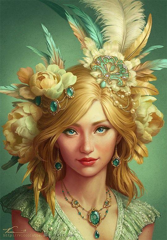 Beautiful Digital Illustrations by Viccolatte