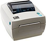 Zebra GC420d Monochrome Desktop Direct Thermal Label Printer, 4 in/s Print Speed, 203 dpi Print Resolution, 4.09″ Print Width, 110/240V AC