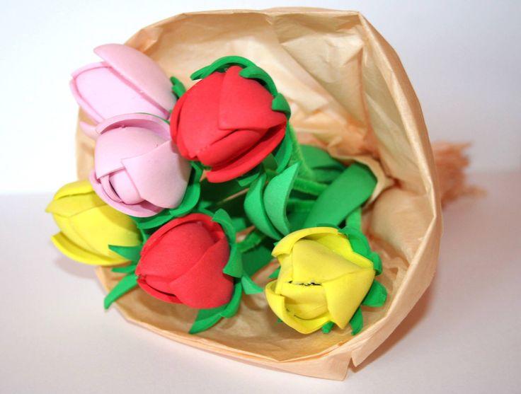 piankowe tulipany - dpCraft - Agnieszka C