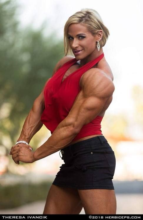 Theresa IvancikIFBB Pro BUILDERS Muscular Women