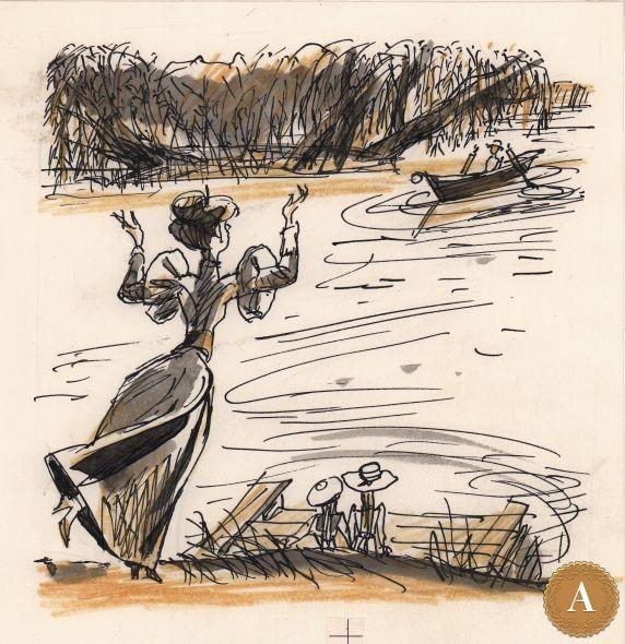 Книжная иллюстрация, художник М. Скобелев  (к «Избранным рассказам» А.П. Чехова)