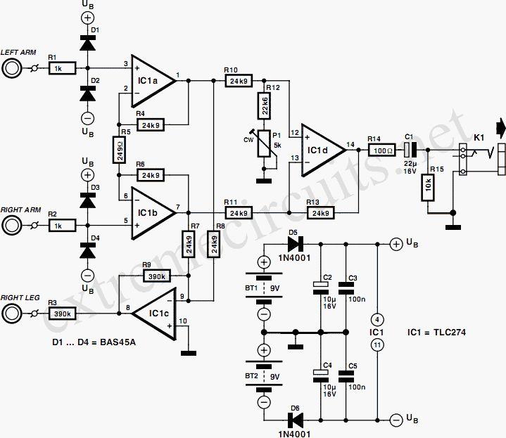 25 Unique Circuit Diagram Ideas