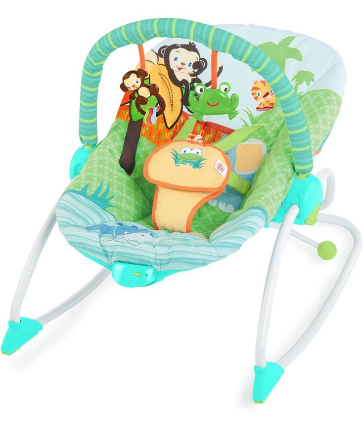 Buy Bright Starts Peek-a-Zoo Rocker at Argos.co.uk - Your Online Shop for Baby bouncers.