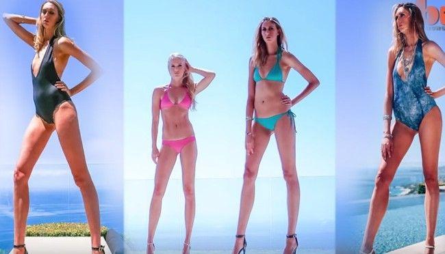 America's Longest Legs: Houston Model Has 49 Inch Legs!