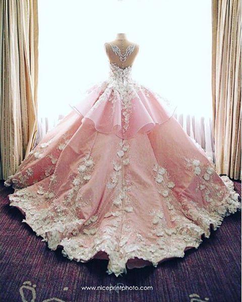 Mak Tumang @maktumang VIA gown in pink ...Instagram photo | Websta (Webstagram)