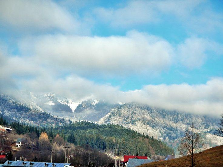 Coming winter - Cheia, Romania.