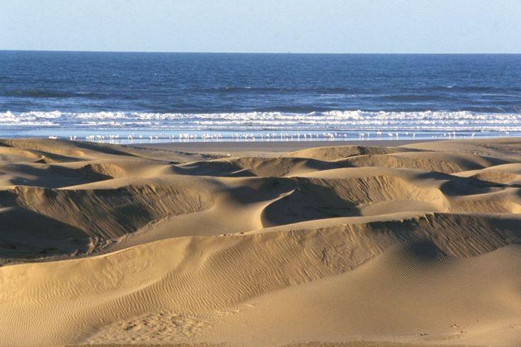 Pegados a la costa del Atlántico, de Tan Tan a Tarfaya hay 200 kilómetros de monótono desierto que nos hará soñar con la aventura. No en vano, el pueblo pesquero de Tarfaya está asociado a Antoine de Saint Exupéry, autor de 'El principito'.