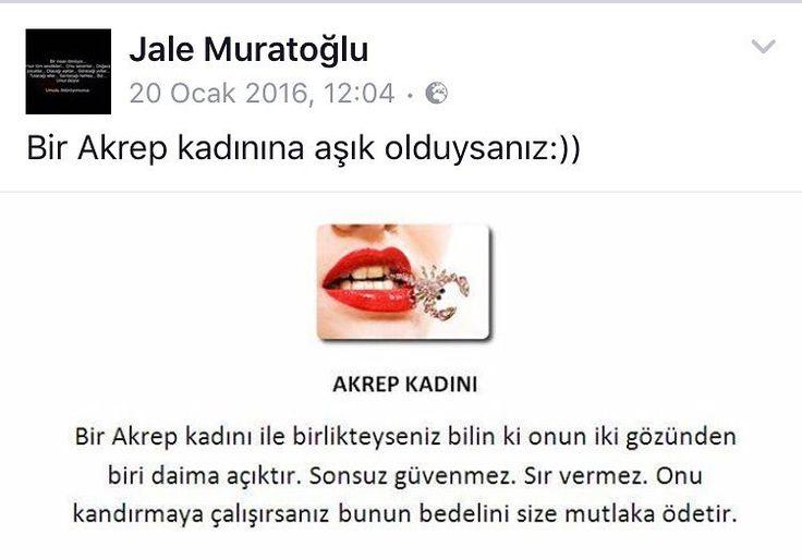 """31 Beğenme, 2 Yorum - Instagram'da Jale Muratoğlu (@karmastrologjalemuratoglu): """"💕Akrep Bayanlar 💕"""""""