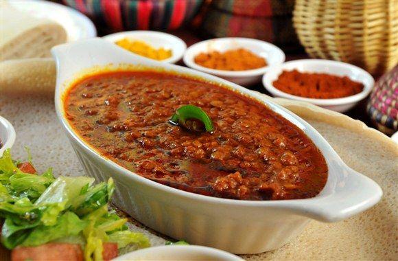 Kik Wot - Red Lintel Stew (Ethiopia) #recipe #food #dalekh