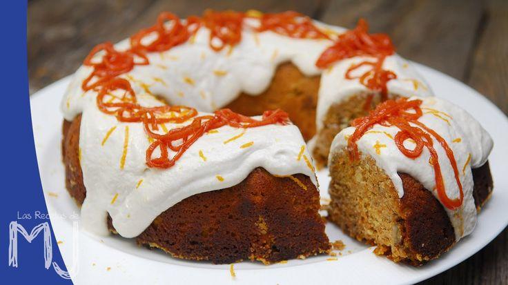 Tarta de zanahoria (saludable) / Carrot cake (healthy)