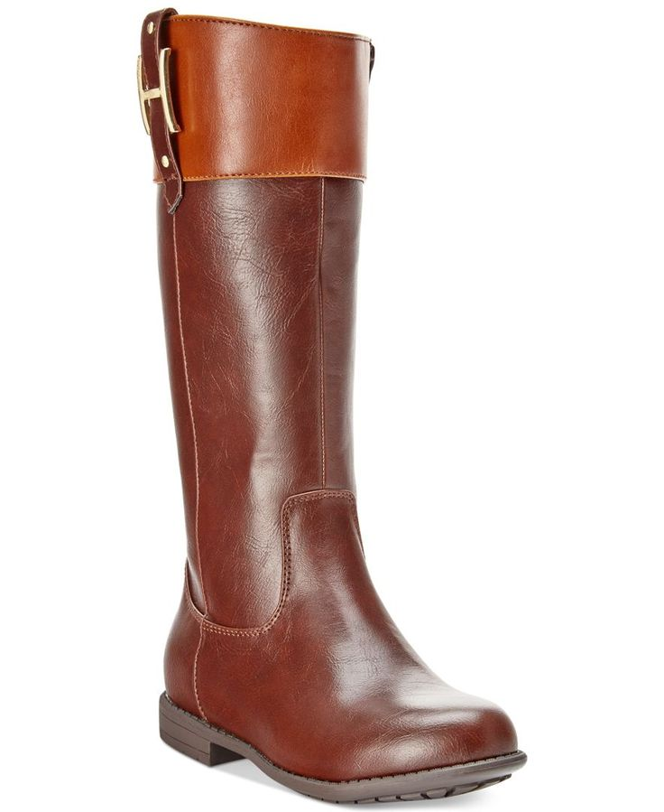 Tommy Hilfiger Girls' or Little Girls' Andrea H-Charm Boots