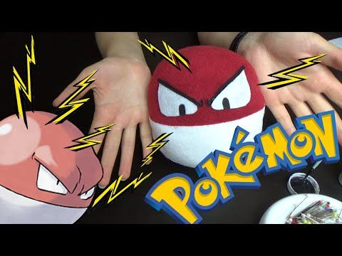 Speed Sewing: Voltorb - YouTube
