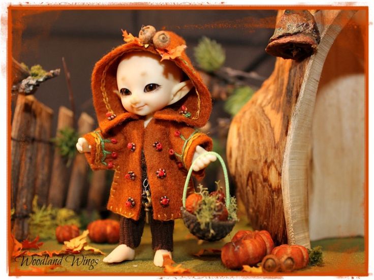 Autumn Fairy Outfit for Realpuki
