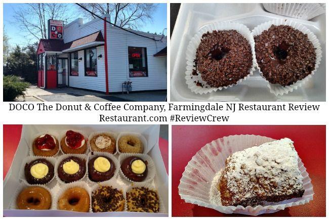 Restaurant Review: DOCO The Donut & Coffee Company, Farmingdale NJ –  Restaurant.com #ReviewCrew #sponsored