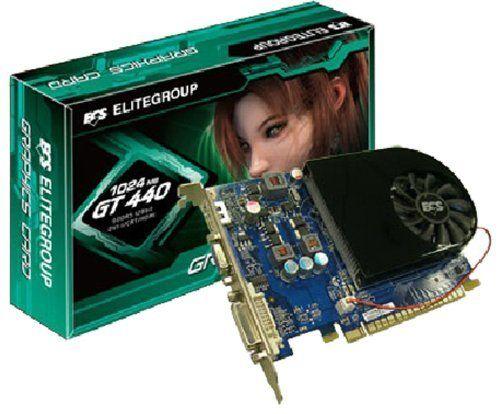 ECS GeForce GT 440 1024MB GDDR5 PCI Express 2.0 DVI/HDMI ...