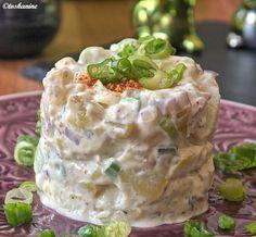 Das perfekte Pikanter Kartoffelsalat auf Joghurt-Basis-Rezept mit einfacher Schritt-für-Schritt-Anleitung: Die Kartoffeln als Pellkartoffeln kochen und…