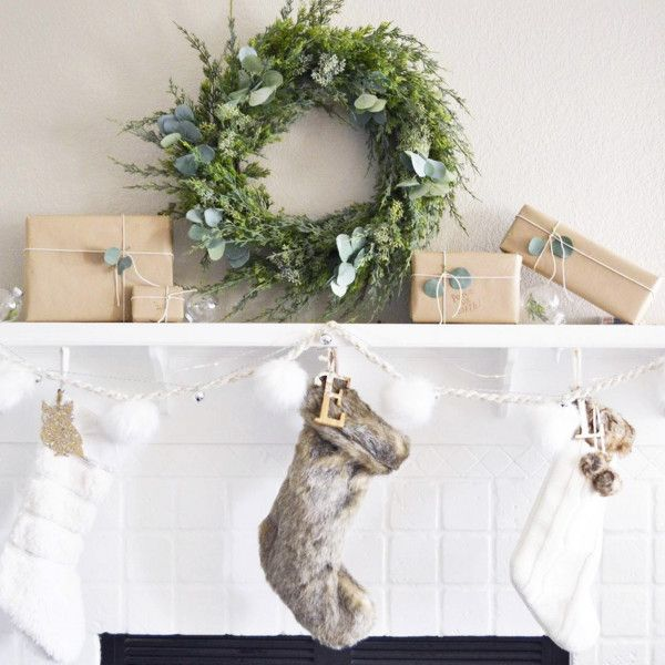 Carolers Displayed On A Mantle With Garland And Stockings: 227 Best Mantel Decorating Ideas Images On Pinterest