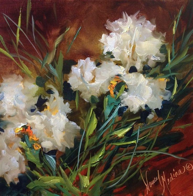 127 best art Nancy Medina images on Pinterest   Paintings of flowers ...