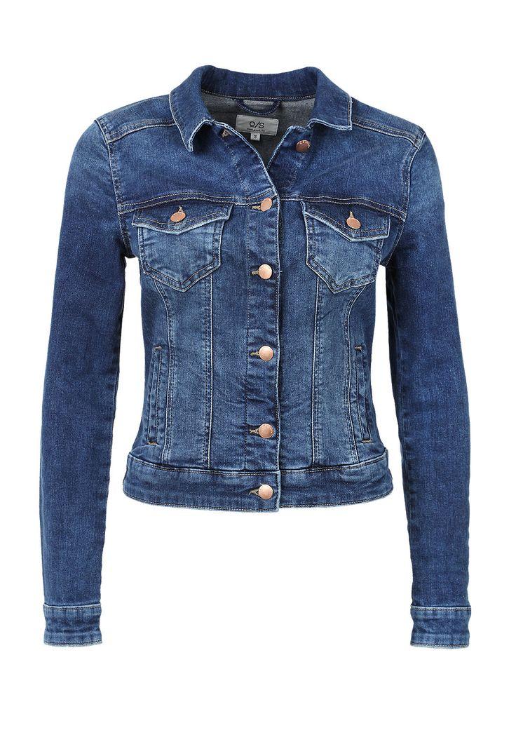 Kurze Stretch-Jeansjacke von s.Oliver. Entdecken Sie jetzt topaktuelle Mode für Damen, Herren und Kinder und bestellen Sie online.