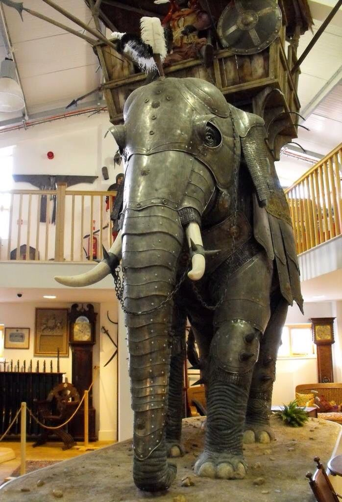Indian Battle Elephant