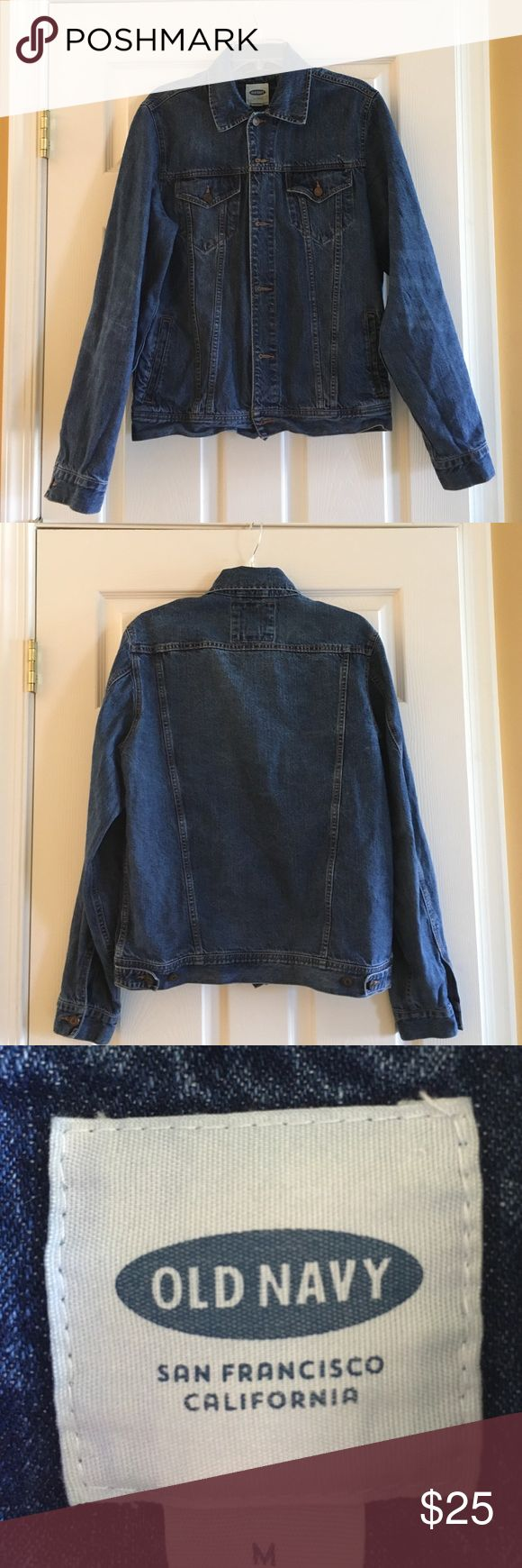 Men's Jean Jacket, Perfect for the Spring SZ M Brand New!!! Men's Jean Jacket, Perfect for the Spring SZ M🌹🌷🌼 Jackets & Coats Lightweight & Shirt Jackets