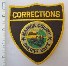 MARION COUNTY INDIANA SHERIFF DEPARTMENT CORRECTIONS - Vintage SHOULDER PATCH