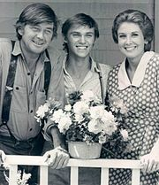 The Waltons: Ralph Waite and Michael Learned are actually friends of friends of mine