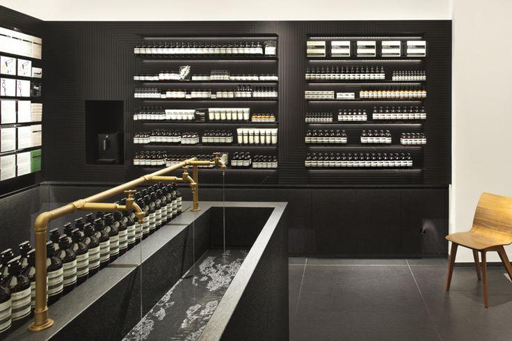 Aesop Store in Stuttgart Germany designed by einszu33