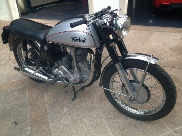 1954 NORTON 500CC 30M MANX $18500