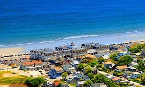 Groupon - Stay for Two or Four at Nantasket Beach Resort in Hull, MA with Daily Breakfast for Two; Dates Available into May  in Hull, MA. Groupon deal price: $52