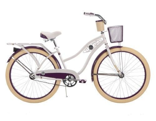 Vintage Womens Cruiser Bike White Bicycle Retro Bikes Bicycles