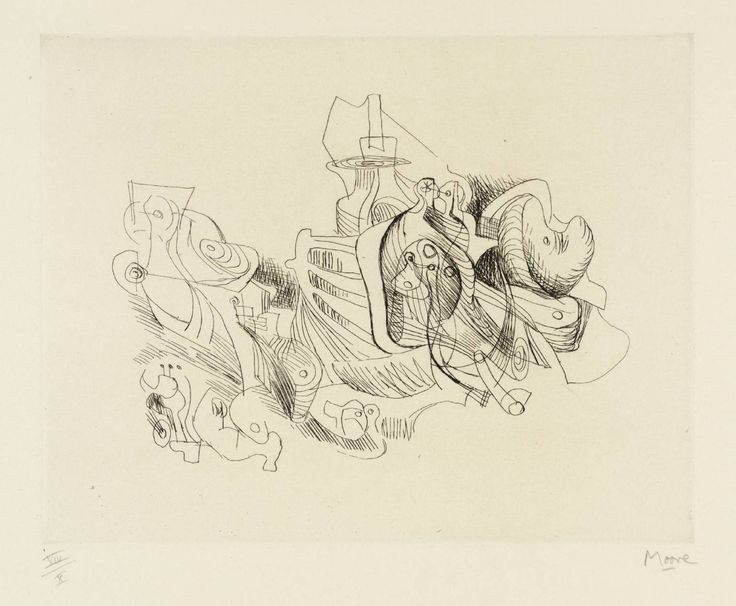 Henry Moore OM, CH 'Fantasy', 1967–8 © The Henry Moore Foundation, All Rights Reserved, DACS 2014