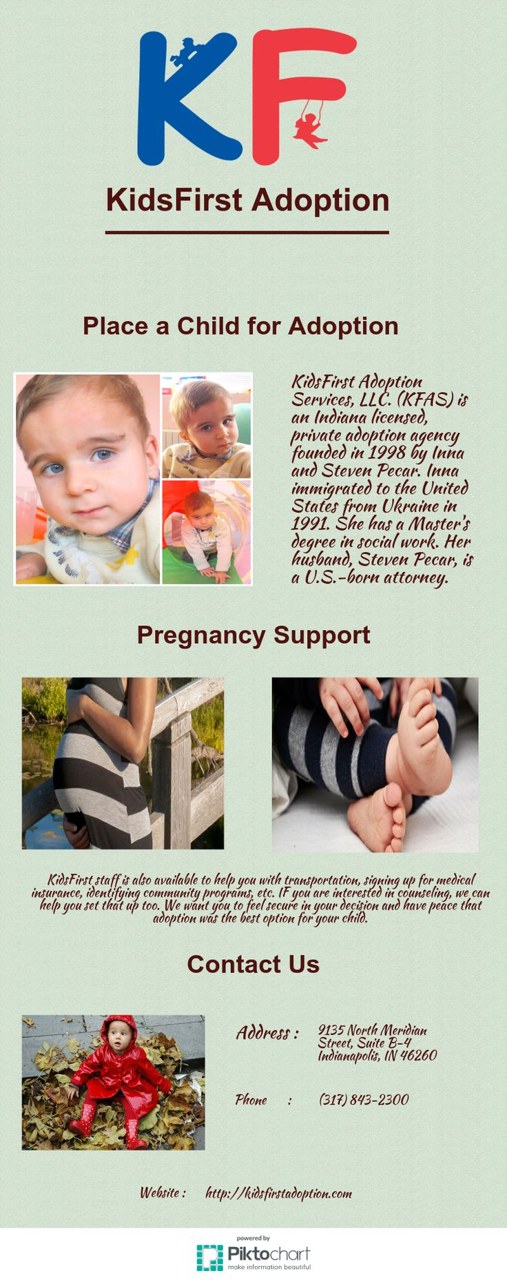 KidsFirst Adoption Services, LLC. (KFAS) is an Indiana ...