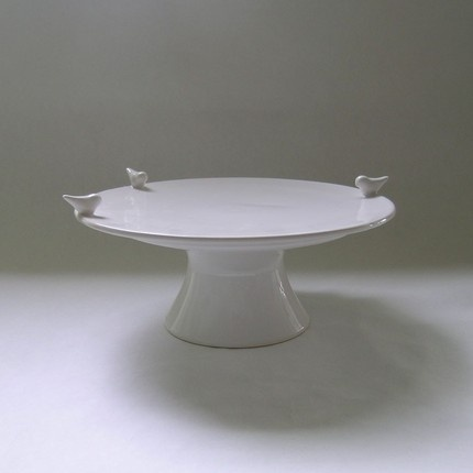 Bird cake stand - sucker for birds though I don't have any live ones inside my house