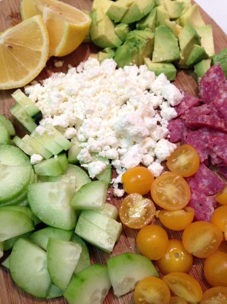 greek quinoa salad | quick + healthy + filling