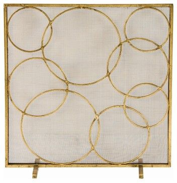 Glen Screen - transitional - Fireplace Accessories - Masins Furniture $648