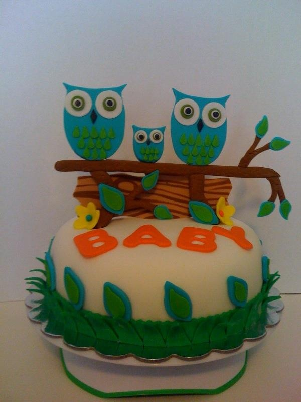 Owl baby shower idea?