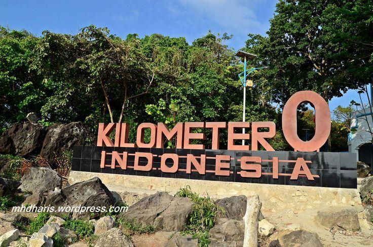 0 kilometer indonesia dari sabang inilah ujungnyaa :*