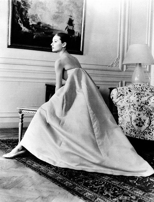 Audrey Hepburn in Givenchy.