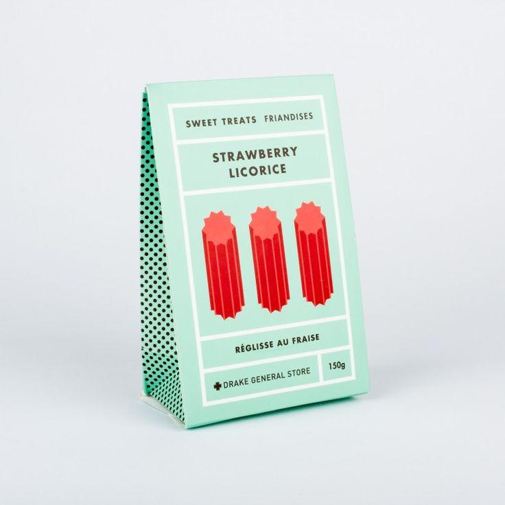 Drake General Store - Strawberry Licorice