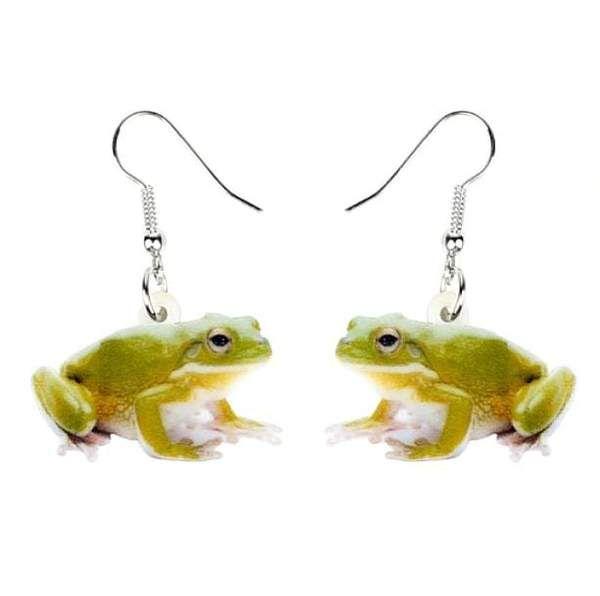 Froggy Earrings In 2020 Funny Earrings Funky Earrings Kawaii Earrings